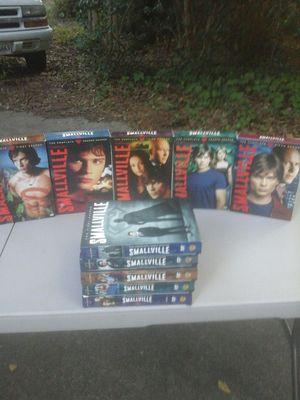 SMALL VILLE DVD ALL 10 SEASONS for Sale in Virginia Beach, VA