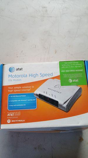 ATT DSL modem for Sale in San Diego, CA