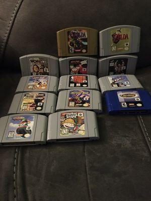Nintendo 64 N64 Games Zelda for Sale in Tyngsborough, MA