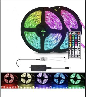 32 .8 FT Waterproof LED SMD Strip Light Fairy Lights Room TV Party Bar for Sale in Temple City, CA