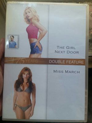 The Girl Next Door and Miss March DVD Double Movie Pack Brand New for Sale in Los Angeles, CA