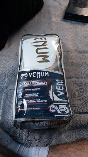 Venum Boxing Gloves White/Gold for Sale in Phoenix, AZ