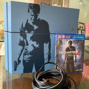 PS4 Limited Uncharted Edition & Uncharted 4 Game for Sale in Hialeah, FL
