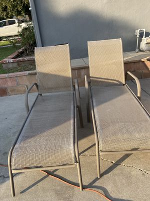 Lounging Chairs (2) for Sale in Covina, CA