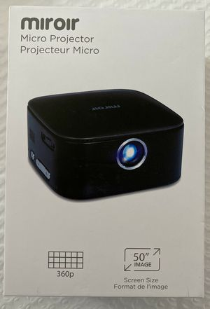New Miroir Micro Projector (M75) for Sale in Ashburn, VA
