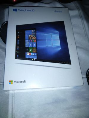 MICROSOFT WINDOWS 10 HOME EDITION for Sale in Baytown, TX
