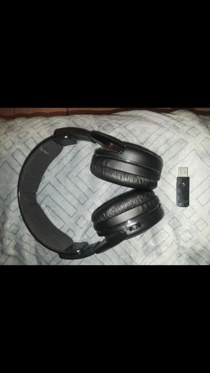 Afterglow PS4 wireless headphones & adapter. NO charging cord or mic for Sale in Fort Myers, FL