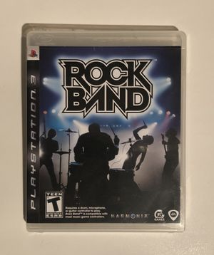 Rock Band PS3 for Sale in Riverside, CA