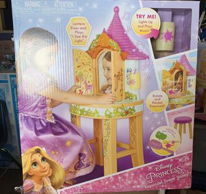Disney princess rapunzel tower Vanity set for Sale in Northglenn, CO