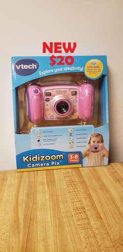 New VTech KidiZoom Kid's Camera Real Digital Camera for Kids, Pin Color Take real digital photographs with kid-friendly camera. Video recorder for Sale in Ventura,  CA