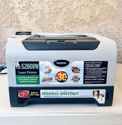 PRINTER LASER BROTHER HL- 5280DW Wireless interface - IN GOOD CONDITION for Sale in Stanton,  CA