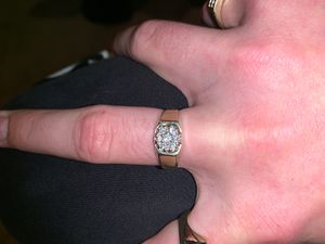 14k diamond ring 6 grams .37 kt for Sale in South San Francisco, CA