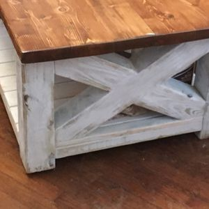 Farmhouse coffee table NEW must pickup for Sale in Lancaster, OH