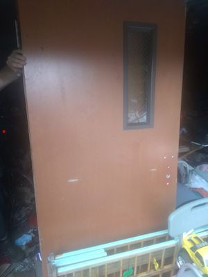 36in exterior door with window for Sale in Elkins, WV