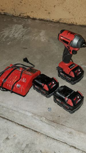 Milwaukee M18 impact drill like new for Sale in Anaheim, CA