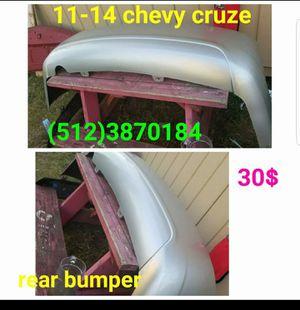2011, 2012, 2013,2014 chevy cruze rear bumper for Sale in Austin, TX