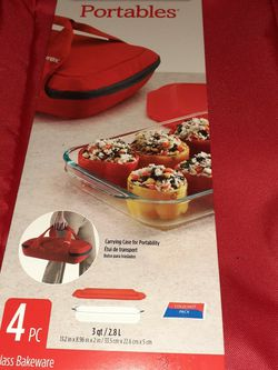 Pyrex Portables With Carrying Case for Sale in Anaheim,  CA