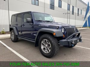 2013 Jeep Wrangler Unlimited for Sale in Bonny Lake, WA