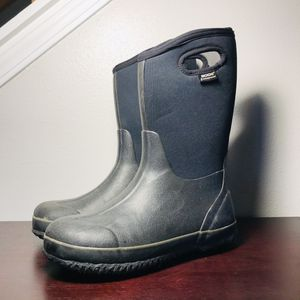 BOGS Classic High Handle Pull On HA 52065-001 Snow Rain Boots Kids Size 6 for Sale in Marysville, WA