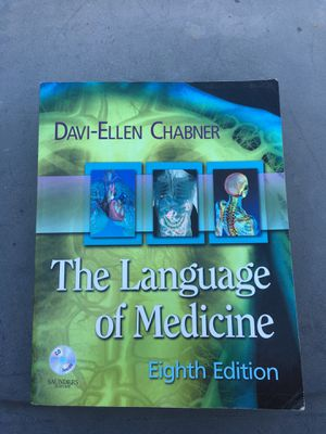 The language of medicine 8th Edition for Sale in Downey, CA