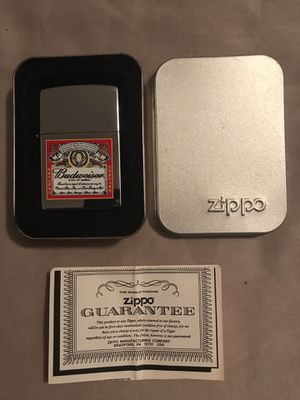 Zippo Budweiser lighter for Sale in El Paso, TX