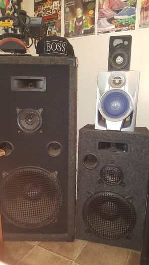 """AcousticUSA 10"""" speakers for Sale in Dade City, FL"""