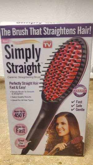 Simply straight hair straightener for Sale in Inglewood, CA