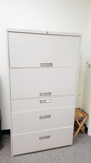 Horizontal file cabinets (2) for Sale in Millbrae, CA