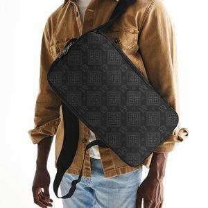 DeMarcus Alexan Grey Monogram Slim Tech Backpack for Sale in Alexandria, VA