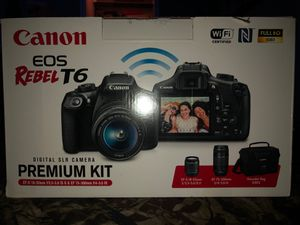 Canon EOS Rebel T6 for Sale in Hialeah, FL