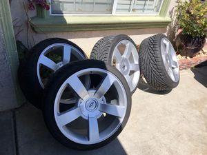 22s Silverado ss wheels for Sale in Fresno, CA