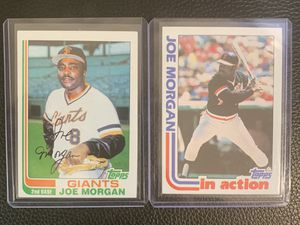 1982 Topps Joe Morgan baseball cards for Sale in Hayward, CA