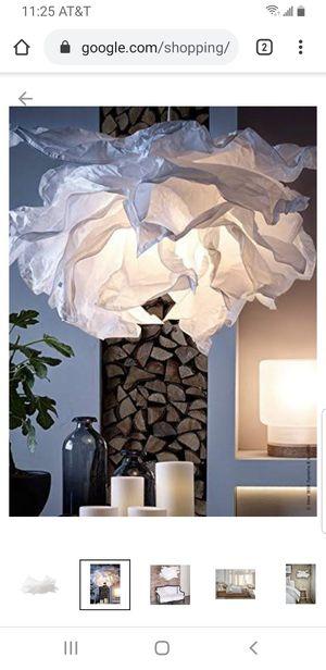 "IKEA - KRUSNING Pendant lamp shade, White, 33 "" for Sale in Pomona, CA"
