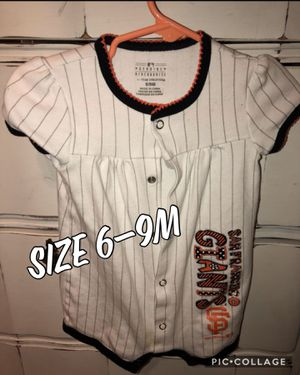 6-9m giants romper for Sale in Brentwood, CA
