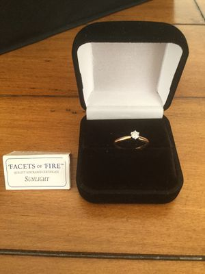 10K Solitaire Ring for Sale in Wichita, KS