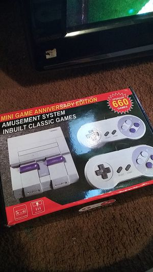 Mini Super Nintendo with 660 game for Sale in Mesquite, TX
