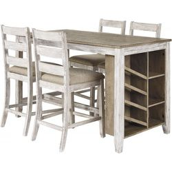 NEW IN THE BOX. SKEMPTON COUNTER HEIGHT DINING SET, SKU# D394-113BS for Sale in Westminster,  CA