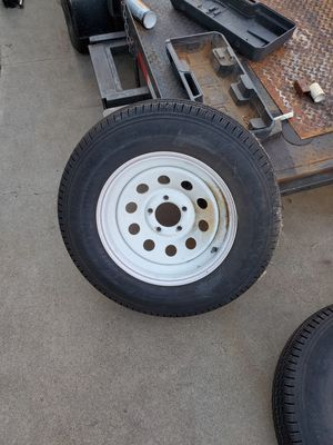 Trailer rims and tires for Sale in Garden Grove, CA