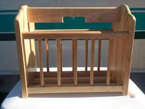 Wooden Magazine Rack for Sale in Saint Helens, OR
