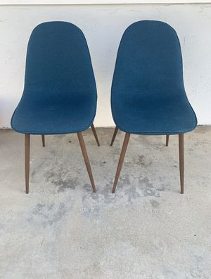 Set of blue chairs for Sale in Imperial Beach, CA