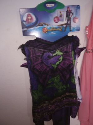 Disney descendants 2 Halloween costume never used brand new for Sale in Tacoma, WA