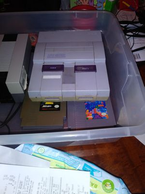 Super Nintendo Powers up but does not come on for Sale in Benbrook, TX