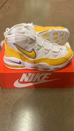 Nike Uptempo Lakers Ds $125 Cash Only Sizes 7-10.5 for Sale in Columbus, OH