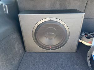 """12"""" Rockford with built-in amp no port hole for Sale in El Cajon, CA"""