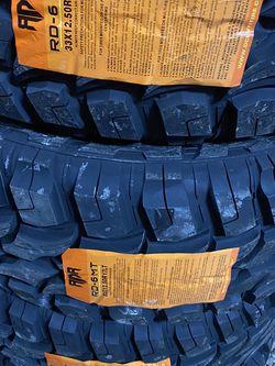 33/12.50/17 MUD TIRES for Sale in Arlington,  TX