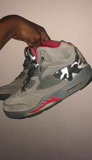 Air Jordan 5 Retro P51 camo for Sale in Lawrenceville, GA