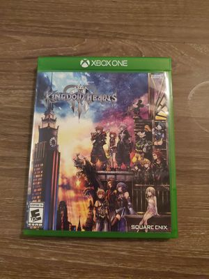 Kingdom Hearts III - XBox One for Sale in Manchester, CT