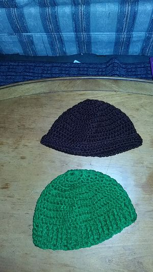Lady'sHand crocheted hats for Sale in Tacoma, WA