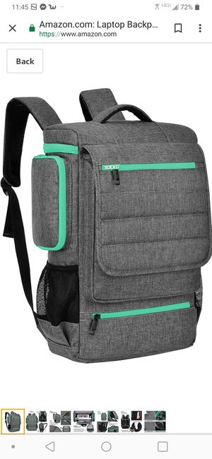 Laptop Backpack 17.3 Inch,BRINCH Water ResistanCollege Shoulder Backpack Fits 17-17.3 Inch Laptop Notebook Computer for Sale in Bakersfield, CA