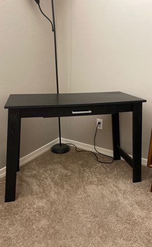 Black Desk Console Table for Sale in Goodyear, AZ